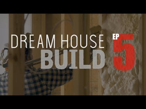 DHB EP5 - Insulation, Hanging Drywall, & More [4K]