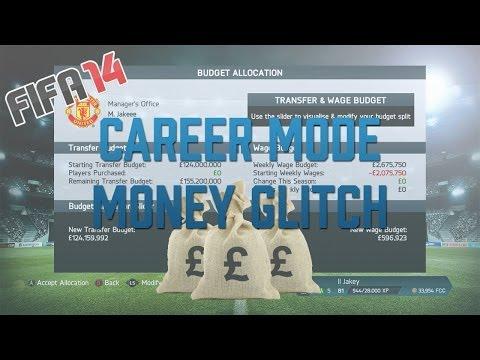 FIFA 14: Career Mode - Money Glitch (£250,000,000+)