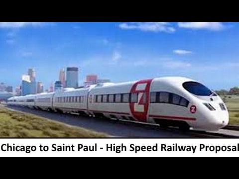 Chicago to Saint Paul High Speed Rail Proposal