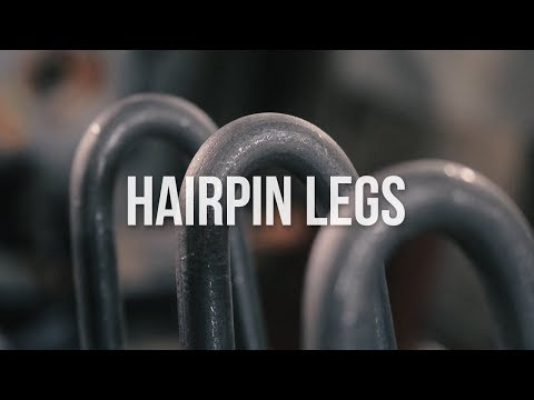 Making Hairpin Legs with Fran