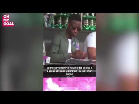 Bouna Sarr fume la chicha avant le Clasico; les supporters de l'OM à bout!
