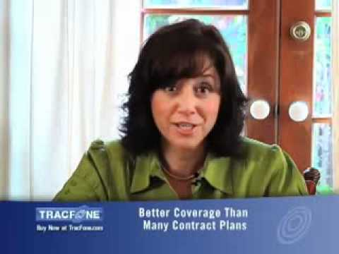 TRACFONE OFFERS YOU GOOD QUALITY CELL PHONES  & HIGH QUALITY CALLS.