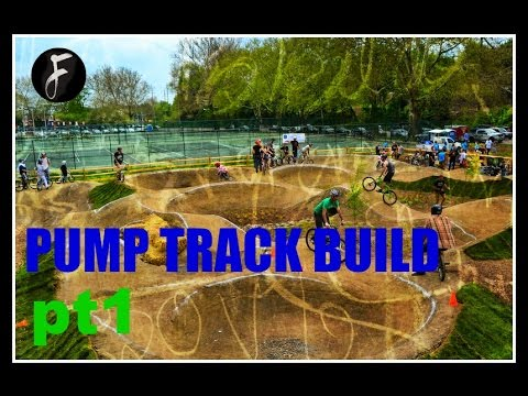 Pump Track Build (pt 1)