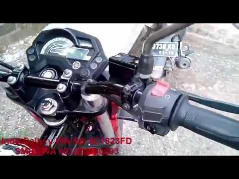 Cara memasang phone holder disepeda motor