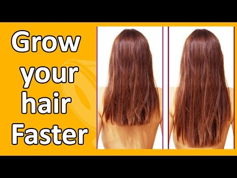 How To Grow Hair Faster - DIY - How To Stop Hair Loss: