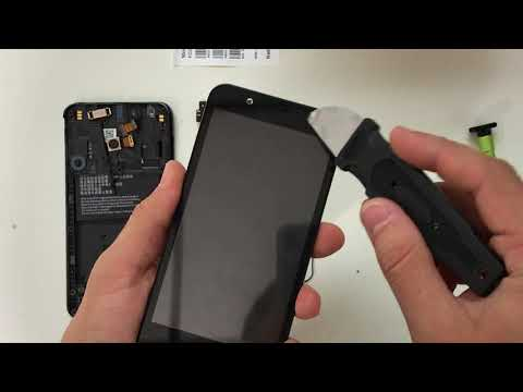 How to replace ZTE Tempo X LCD Glass Screen | Screen Replacement