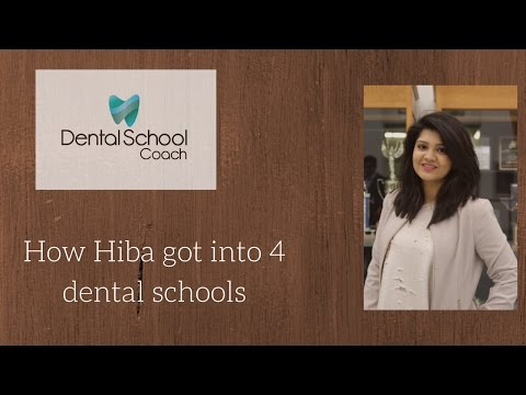 How Hiba got into dental School: Dental School Coach Success Story