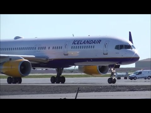 Planespotting at Keflavik Airport - Iceland   14/06/16