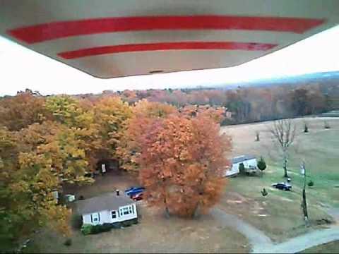 Mini Super Cub/Spy Cam Flight Over Pedab House