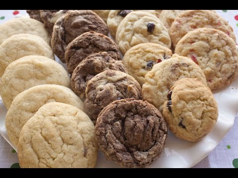 4 Cookie Flavors 1 Cookie Dough | Simply Bakings