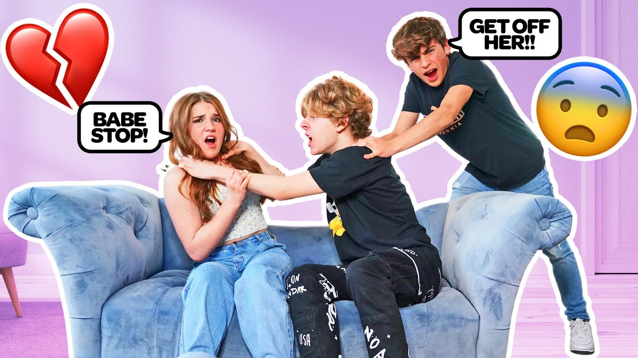 ABUSIVE BOYFRIEND PRANK ON BEST FRIENDS **Must Watch**😡| Piper Rockelle