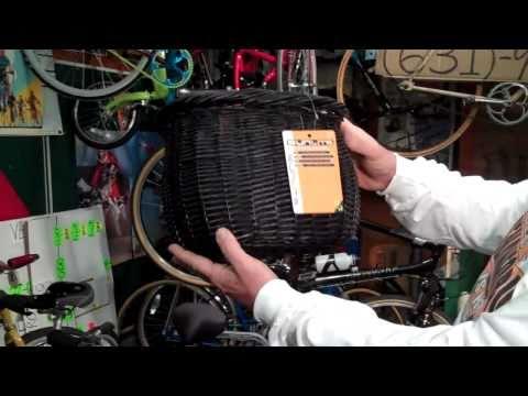 Williow Bushel Basket By SunLite - BikemanforU - Bicycle Accessory