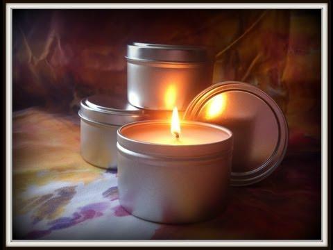 Making Massage Candles