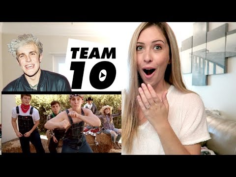 Jake Paul - Ohio Fried Chicken feat. Team 10 Music Video REACTION!