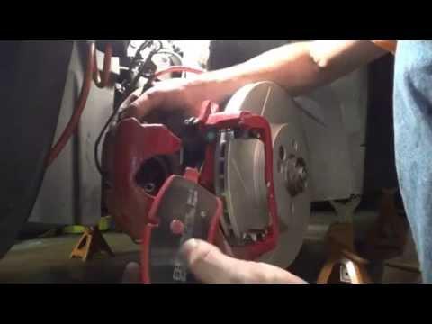 MINI Cooper R53 to R56 brake swap