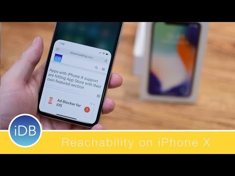 How to Enable and Use Reachability on the iPhone X