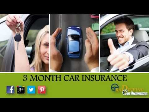 How To Get 3 Month Car Insurance Quickly Online