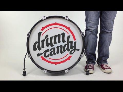 Drum Candy - Removable Bassdrum Sticker