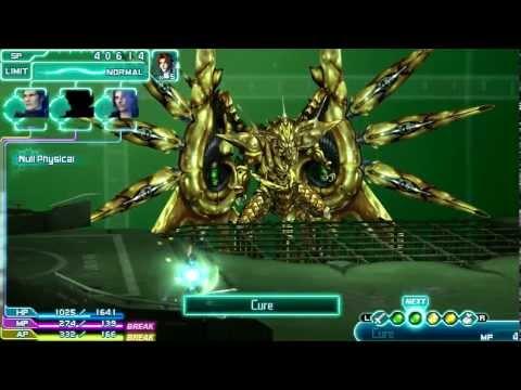 Bahamut Fury - Final Fantasy VII Crisis Core (PPSSPP PC Emulator) HD