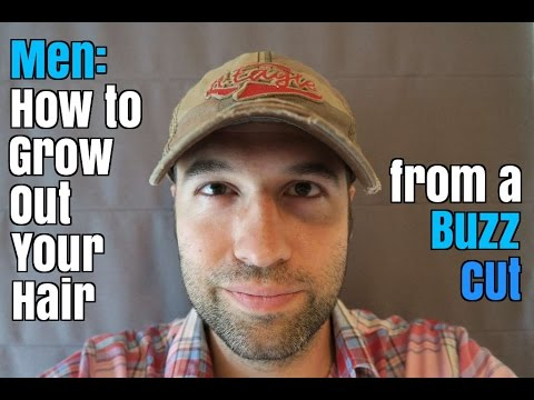 Men: How to Grow Out Your Hair from a Buzz Cut