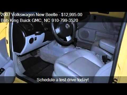 2007 Volkswagen New Beetle 2.5L - for sale in Wilmington, NC