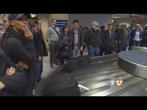 Holiday Travel In Full Swing At DFW Airport