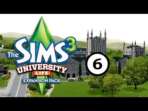 Let's Play: The Sims 3 University Life Part 6: Thursday class and Writing skill (without commentary)