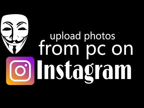How to Upload Photos to Instagram From PC,Laptop (2017)without bluestack or by any emulator