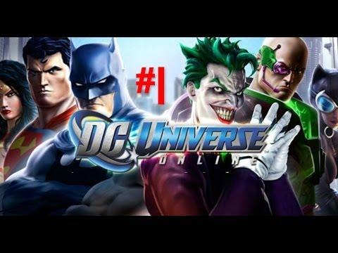 DC Universe Online Let´s Play en español HD parte 1