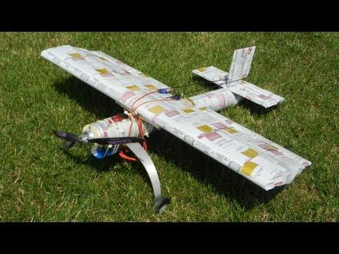 Beerflyer / Selfmade rc plane with beer cans / Bierflieger