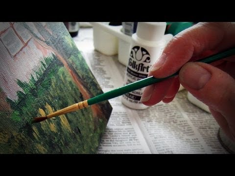 Acrylic Painting Tip #55 - Developing Your Own Painting Style