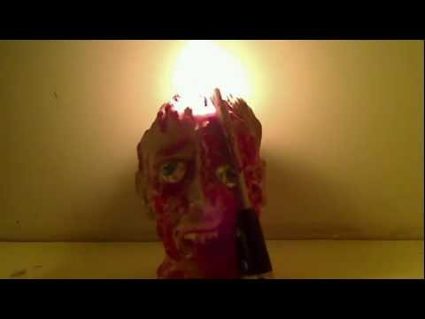 Bleeding Head Candle Time Lapse