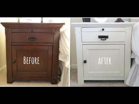 Furniture Makeover Using Annie Sloan Chalkpaint!