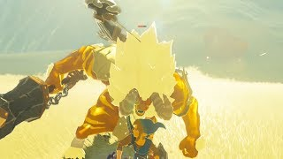 How to Stun Lock A Gold Lynel - Zelda Breath of the Wild