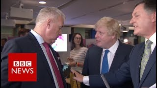 Boris Johnson vs Ian Lavery: