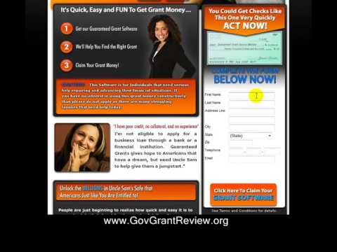 How To Get Free Government Grant Kits