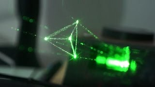 Holovect Draws Objects In The Air With Light