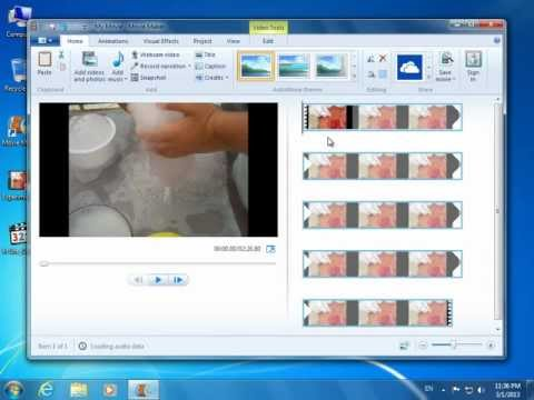How to open .FLV files in Windows Live Movie Maker