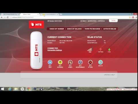 MTS MBLAZE Wi-Fi Ultra USB Dongle poor internet speed