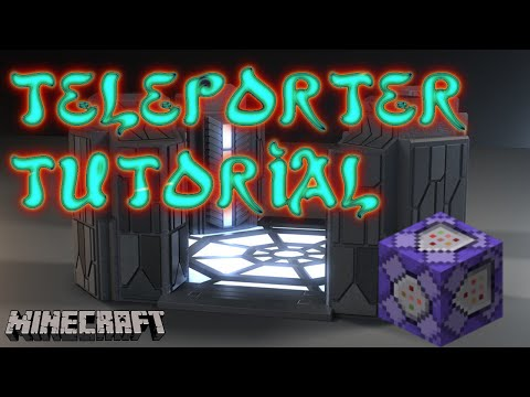 Making a Simple Teleporter? I can do that! - Minecraft Tutorial