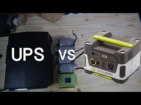 Uninterruptible Power Supplies  VS   Inverters -  LIVE chat