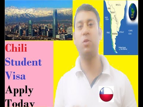 chile visa (Apply By Yourself)