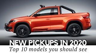 Top 10 Upcoming Pickup Trucks You Should Buy in 2020 Model Year