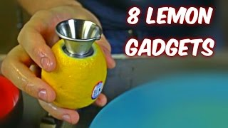 8 Lemon Gadgets put to the Test