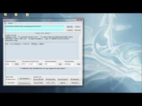 Conversão de Frame Rate (FPS) de Áudio - UsEac3To
