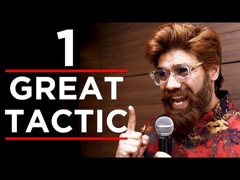 How to Give Speeches or Presentations - 1 Powerful Tool   Improve Your Public Speaking Skills