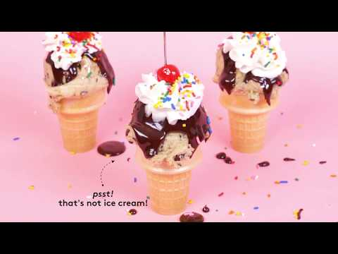 How to Make Cookie Dough Cones | How To: Kitchen | Real Simple