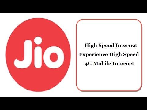Jio High Speed Internet test | Experience High Speed 4G Mobile Internet