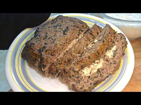 Greek Meatloaf (the low-carb way)