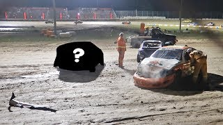 I CRASHED A RACECAR! *CAUGHT ON CAMERA*